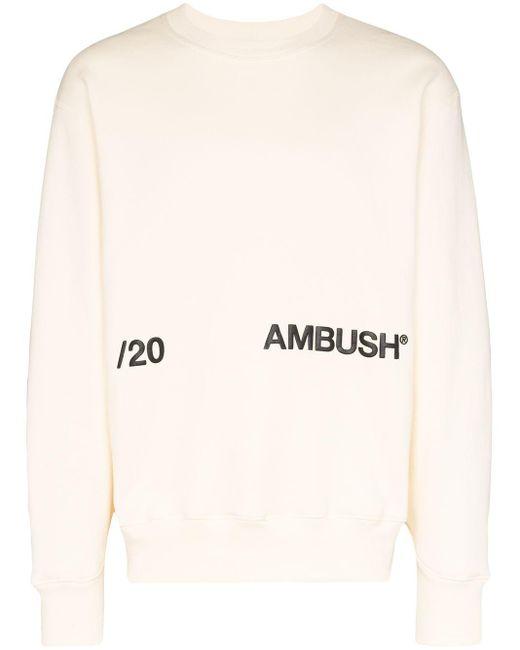 メンズ Ambush ロゴ スウェットシャツ Multicolor