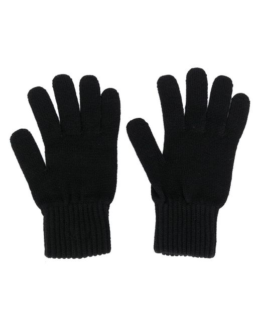 Calvin Klein Bax ファインニット 手袋 Black