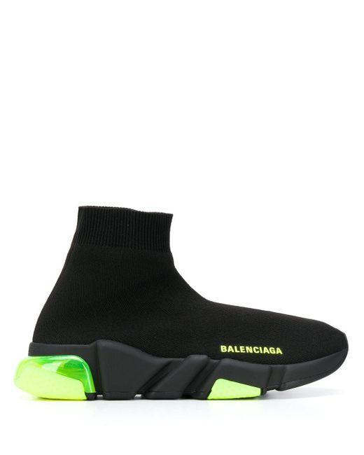 Balenciaga スピード クリアソール トレーナー Black