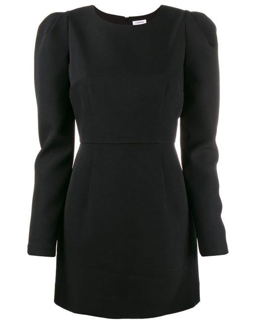 P.A.R.O.S.H. パフスリーブ ドレス Black
