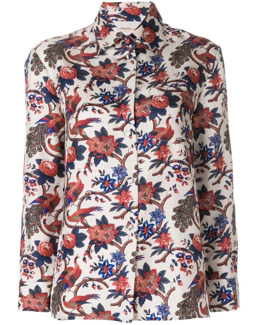 Garden print shirt LaDoubleJ en coloris Multicolor