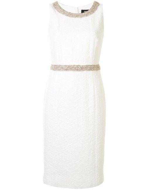 Paule Ka ノースリーブ ドレス White