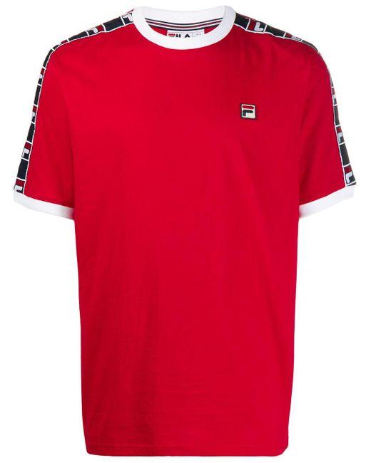 Fila Red Luca Tape T-shirt for men