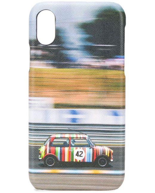 メンズ Paul Smith Iphone X ケース Blue