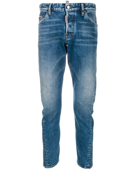 DSquared² Blue Sexy Twist Jeans for men