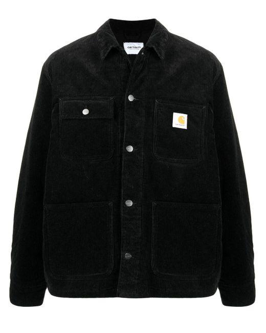 メンズ Carhartt WIP コーデュロイ シャツジャケット Black