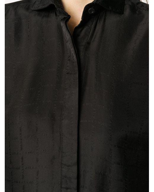 1017 ALYX 9SM オーバーサイズ シャツ Black