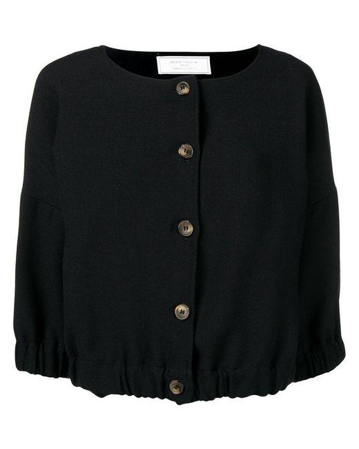 Societe Anonyme - Black Elastic Top Jacket - Lyst