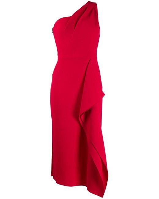 Roland Mouret Rivoli ドレス Red