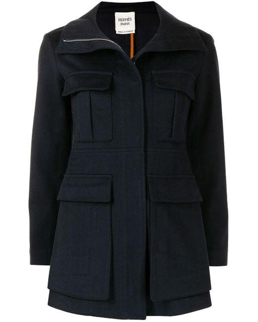 Hermès シングルコート Blue