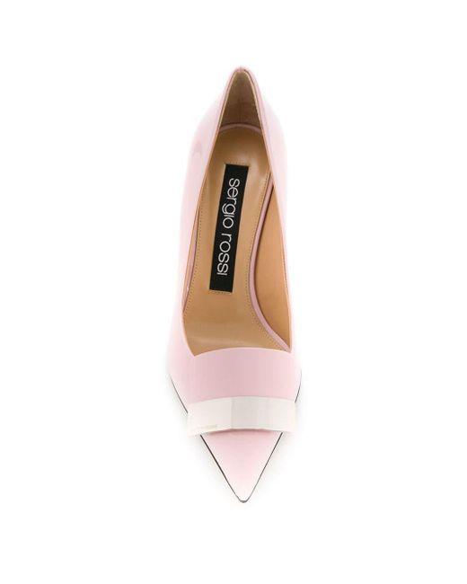 Escarpins sr1 Sergio Rossi en coloris Pink