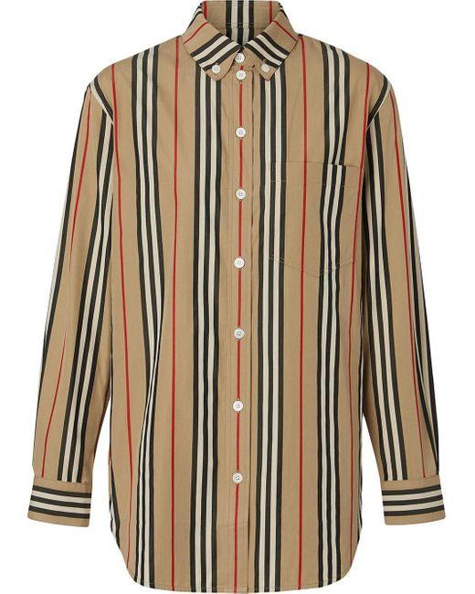 Burberry アイコンストライプ シャツ Multicolor
