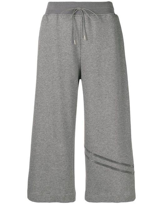 Fabiana Filippi elasticated waist cropped trousers Cheap Shop Offer Free Shipping Popular E2HABubD