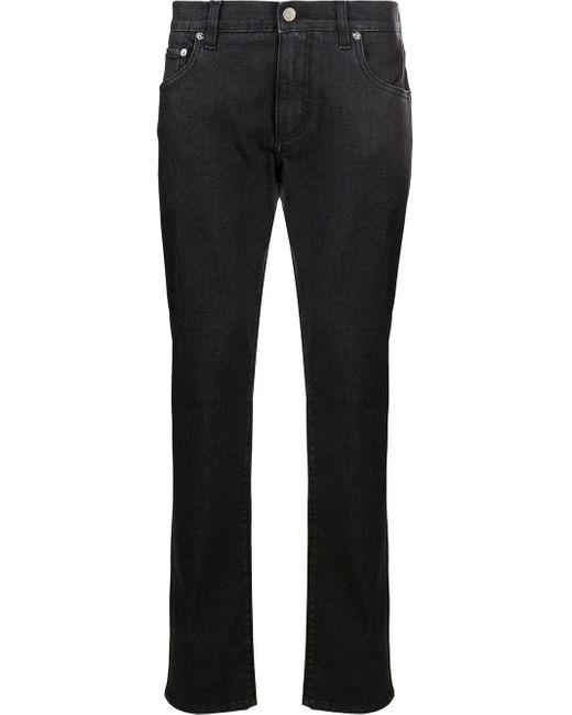 メンズ Dolce & Gabbana テーパード ジーンズ Black