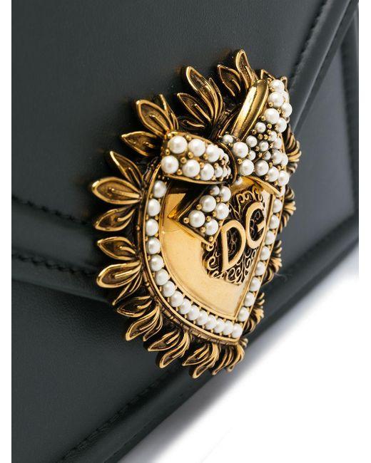 Dolce & Gabbana Devotion ハンドバッグ S Green