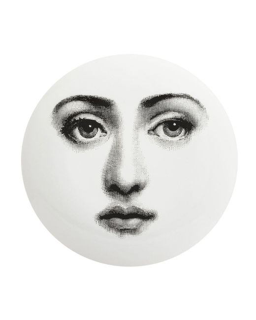 Fornasetti グラフィック プリント 皿 Multicolor