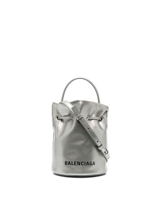Balenciaga エブリデイ バケットバッグ Xs Metallic