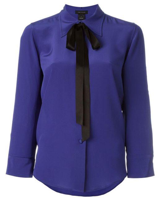 Marc Jacobs ボウタイシャツ Blue