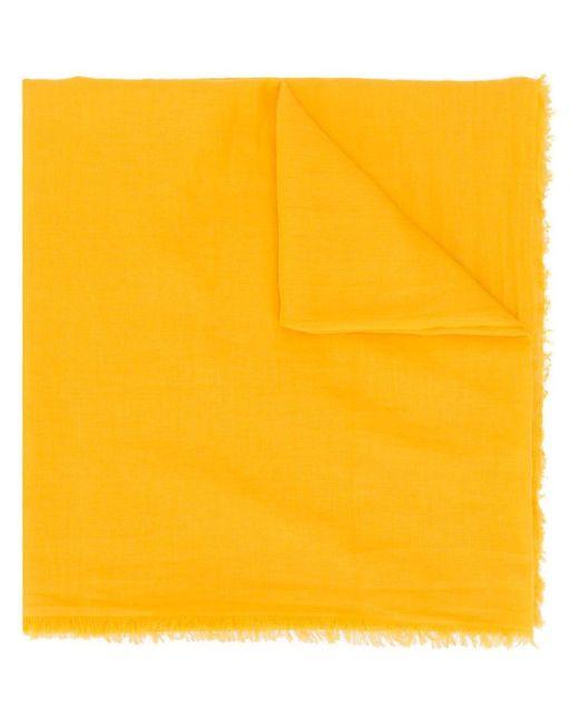 Faliero Sarti フリンジ スカーフ Yellow