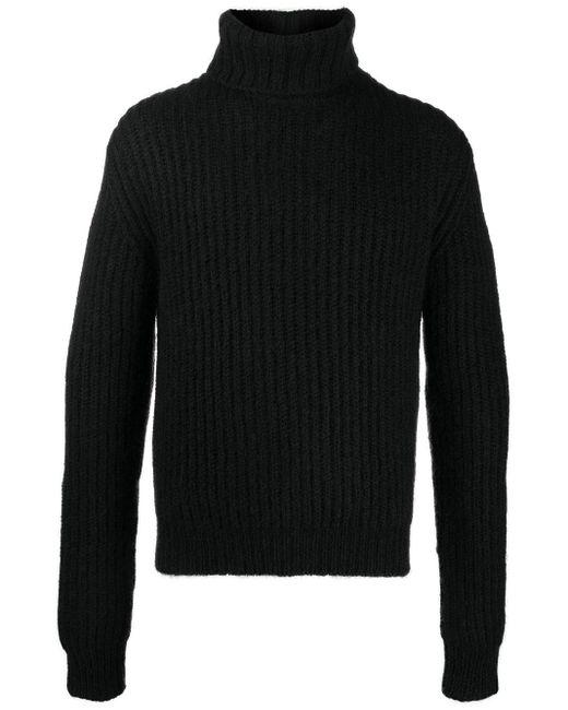 メンズ Saint Laurent タートルネック セーター Black