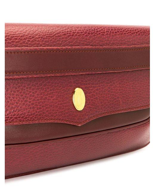 Cartier マスト ドゥ カルティエ クラッチバッグ Red