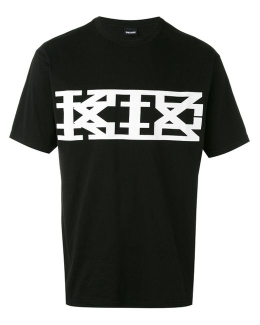 メンズ KTZ プリントtシャツ Black