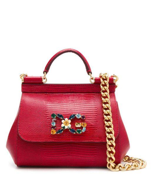 Dolce & Gabbana Dg Girls ショルダーバッグ Red