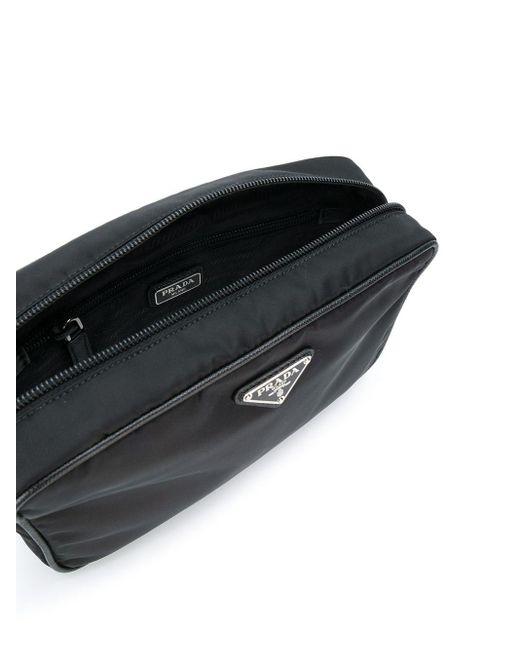 メンズ Prada トラベルポーチ Black