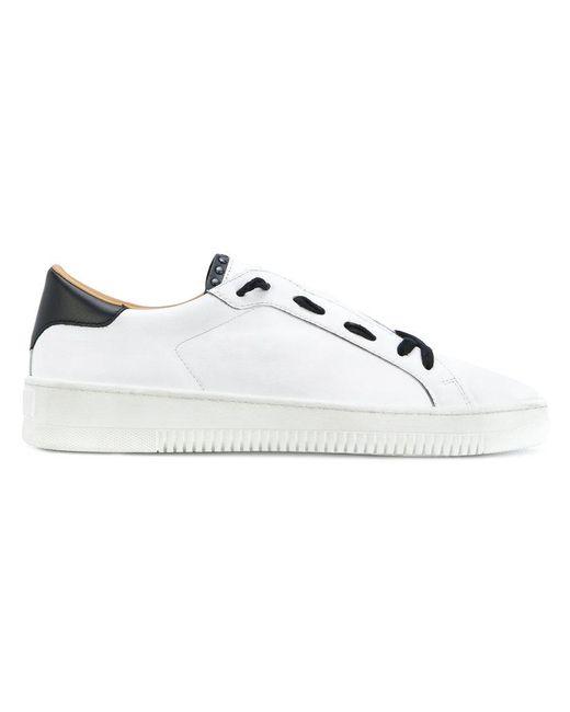 Eleventy   White Slip On Sneakers for Men   Lyst