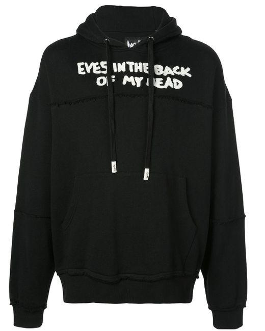 メンズ Haculla Eyes In The Back Of My Head パーカー Black