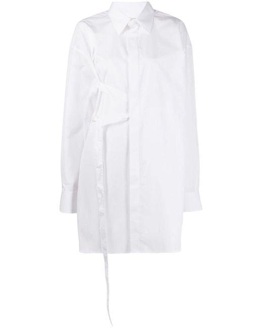 Maison Margiela ベルテッド オーバーサイズ シャツ White