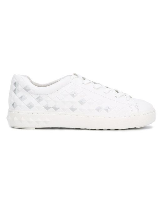 Ash | White 'panic Bis' Low Top Sneakers | Lyst