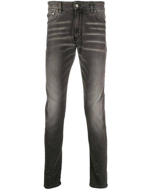 メンズ Represent Essential ローライズ スリムジーンズ Gray