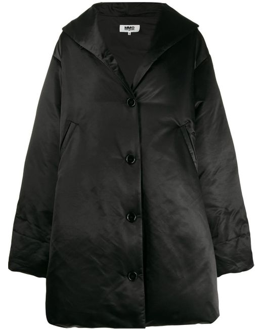 MM6 by Maison Martin Margiela オーバーサイズ パデッドコート Black