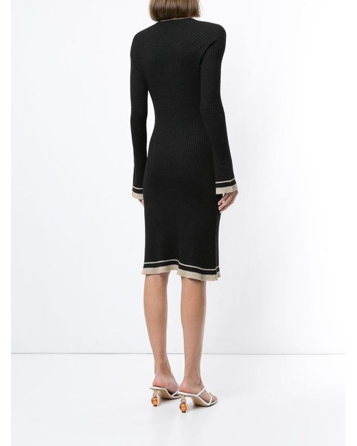 Venroy ニットドレス Black