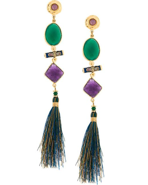 Gas Bijoux - Multicolor Poeme Earrings - Lyst