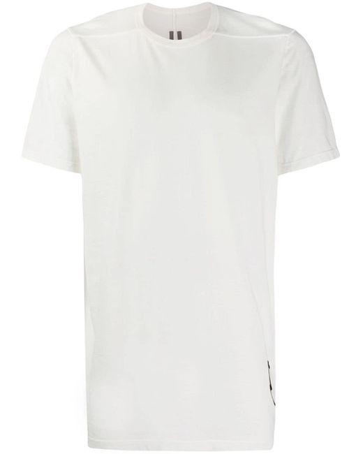 メンズ Rick Owens クルーネック Tシャツ White