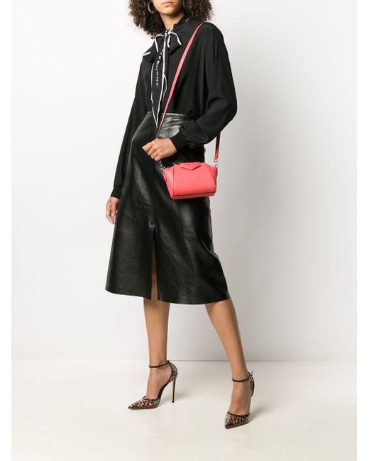 Мини-сумка Antigona Givenchy, цвет: Orange