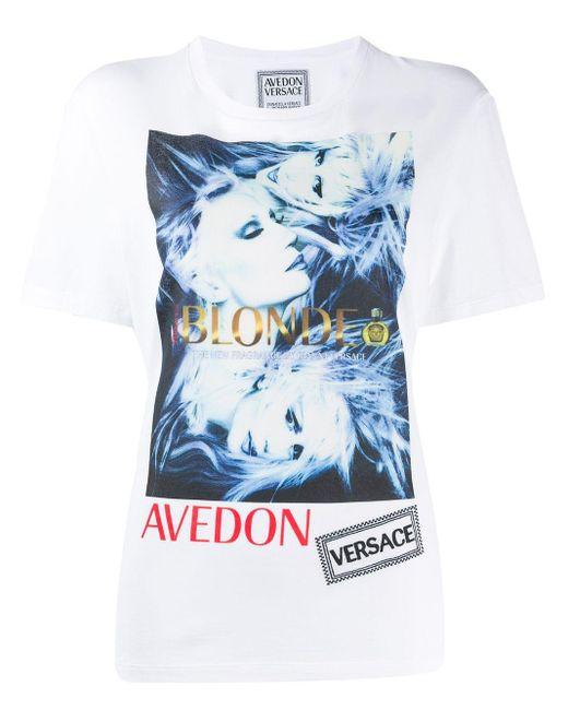 Versace グラフィック Tシャツ White