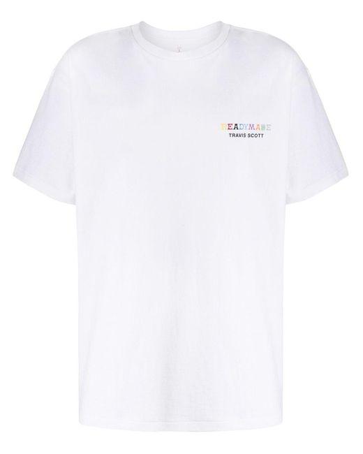 メンズ READYMADE X Travis Scott Tシャツ White