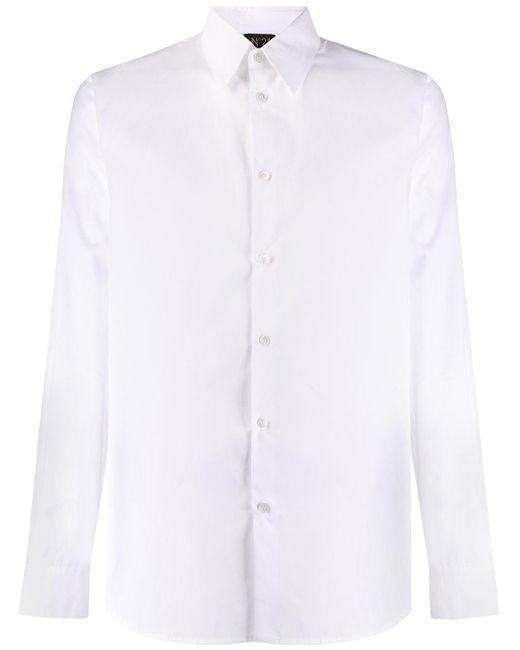 メンズ N°21 プリント シャツ White