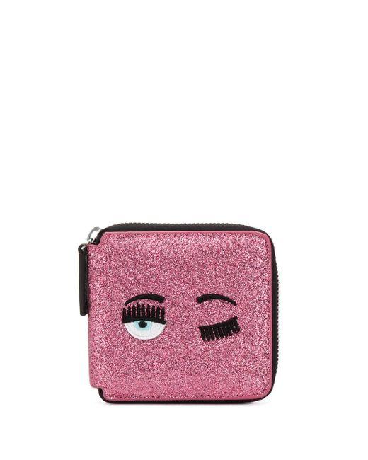 Chiara Ferragni Flirting 財布 Pink