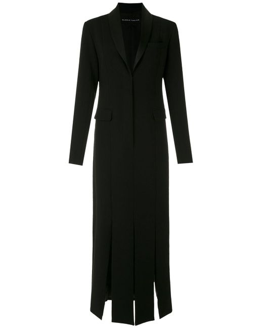 Платье Миди С Разрезами По Бокам Gloria Coelho, цвет: Black