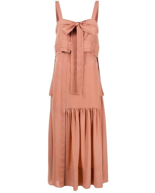 3.1 Phillip Lim イブニングドレス Pink