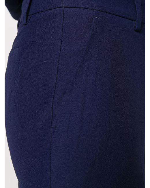 Расклешенные Брюки Строгого Кроя Alexander McQueen, цвет: Blue