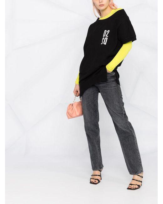 DSquared² オープンショルダー スウェットシャツ Black