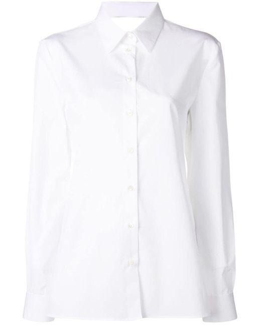 Maison Margiela カットアウト シャツ White