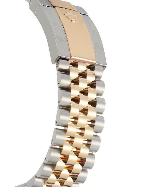 Наручные Часы Oyster Perpetual Datejust 41 Мм Rolex для него, цвет: Metallic