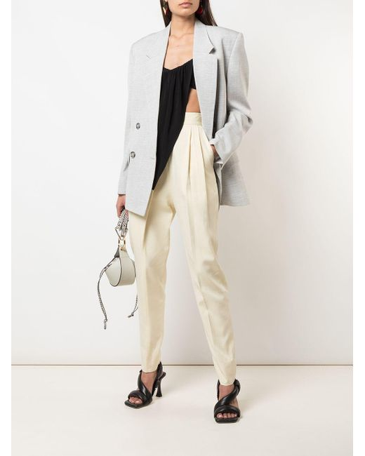 Proenza Schouler オーバーサイズ ダブルジャケット Gray