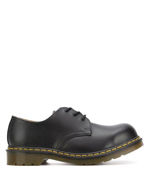 Туфли Дебри На Массивной Подошве Dr. Martens для него, цвет: Black